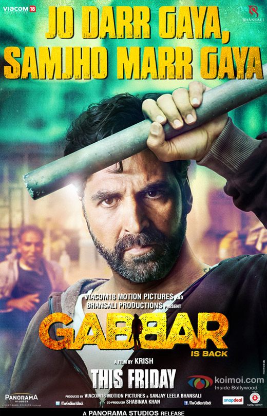 Gabbar Is Back 2015 Hindi Movie Free Download HD